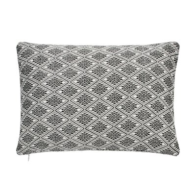 Abstract Aztec Woven Decorative 100% Cotton Lumbar Pillow