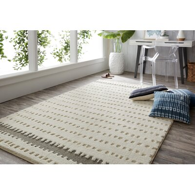 Mohawk Loft Oslo Gray Area Rug Rug Size: Rectangle 5 x 8