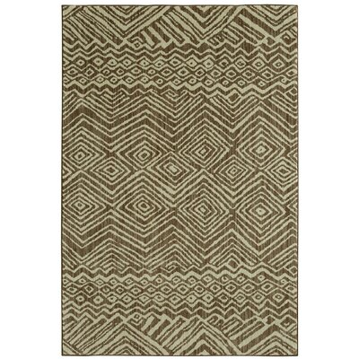Mohawk Studio Mnemba Taupe Area Rug Rug Size: Rectangle 53 x 710