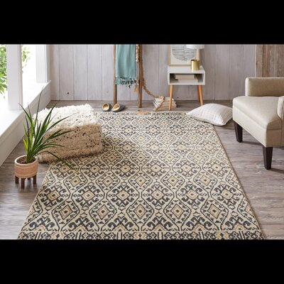 Mohawk Studio Aloma Denim Area Rug Rug Size: Rectangle 53 x 710