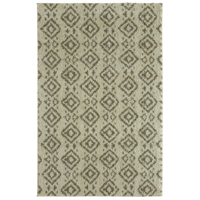Mohawk Laguna Tangier Gray/Cream Area Rug Rug Size: Rectangle 5 x 8