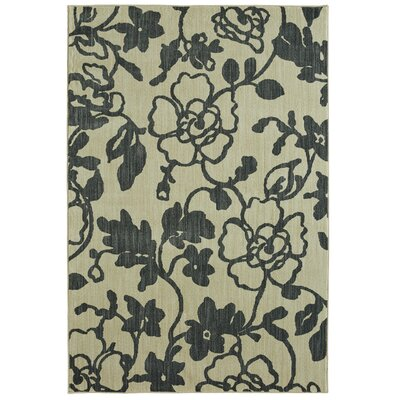Mohawk Studio Savannah Denim/Beige Area Rug Rug Size: Rectangle 53 x 710