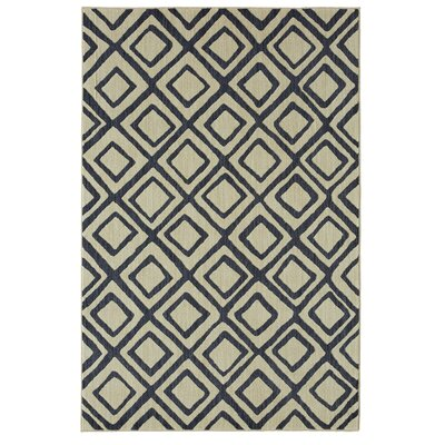 Mohawk Studio Montego Indigo/Beige Area Rug Rug Size: Rectangle 8 x 10