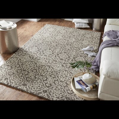 Mohawk Laguna Seville Gray Area Rug Rug Size: Rectangle 5 x 8