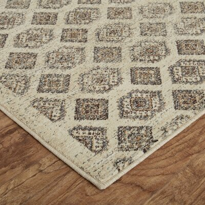 Mohawk Studio Majorca Beige/Sea Area Rug Rug Size: Rectangle 53 x 710