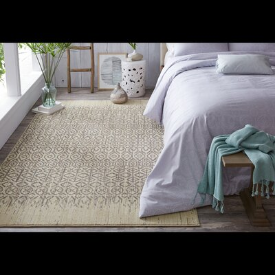 Mohawk Studio Santa Fe Beige/Sea Area Rug Rug Size: Rectangle 53 x 710