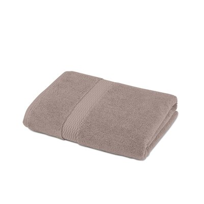 Cotton Bath Towel Color: Stone
