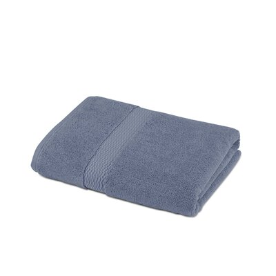 Cotton Bath Towel Color: Blue
