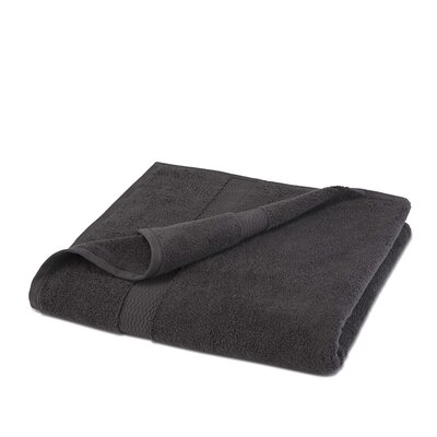 Cotton Bath Sheet Color: Charcoal