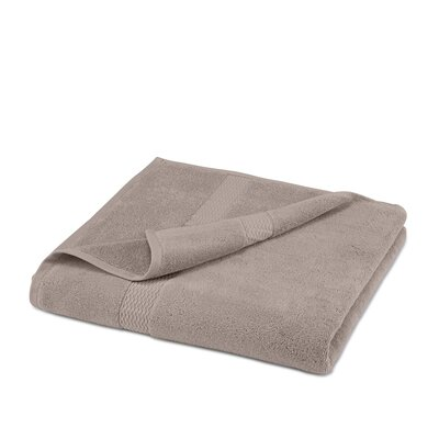 Cotton Bath Sheet Color: Stone