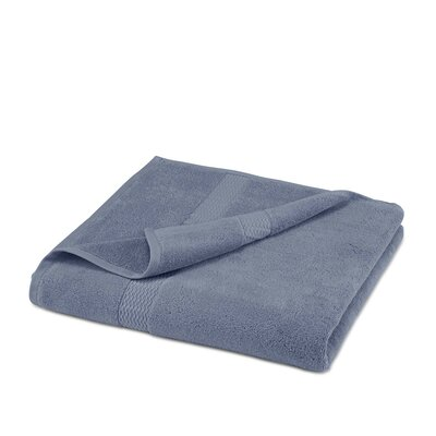 Cotton Bath Sheet Color: Blue