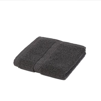 Cotton Wash Cloth Color: Charcoal