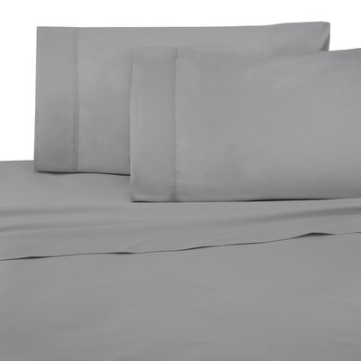 Cotton Pillow Case Size: Standard, Color: Drizzle