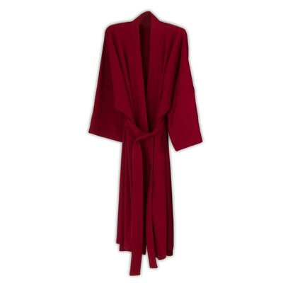 Kimberly Bathrobe Color: Sangria