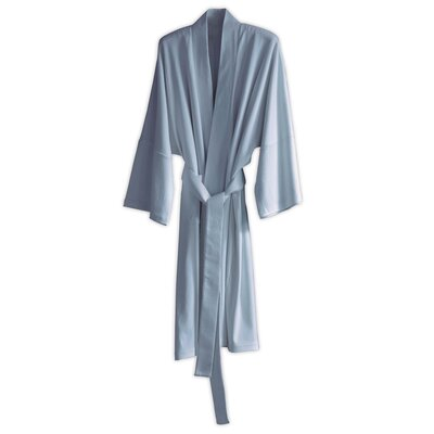 Kimberly Bathrobe Color: Sky