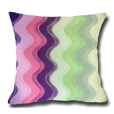 Waves Decorative Toss Throw Pillow