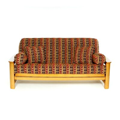 Chipotle Box Cushion Futon Slipcover