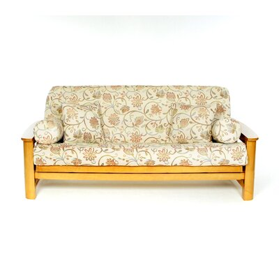 Lacey Box Cushion Futon Slipcover
