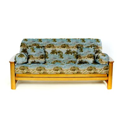 Beach Futon Slipcover