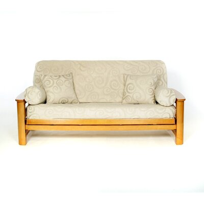 Abby Box Cushion Futon Slipcover