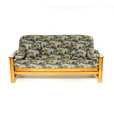Gone Fishing Futon Slipcover