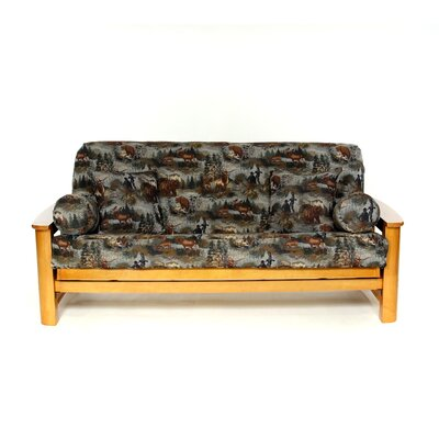 Gone Hunting Futon Slipcover