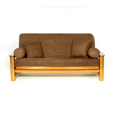 Sussex Box Cushion Futon Slipcover Upholstery: Earth