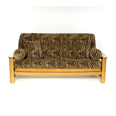 Tiger Box Cushion Futon Slipcover
