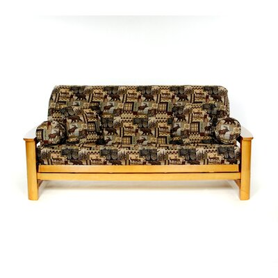 Trail Mix Box Cushion Futon Slipcover