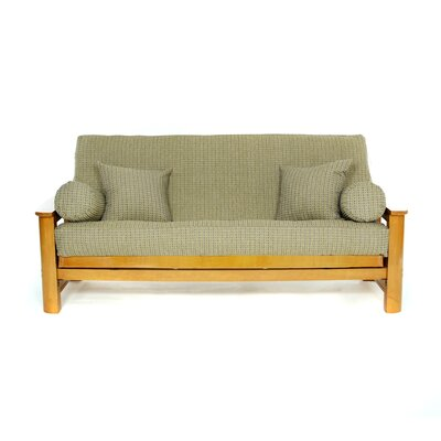 Breezy Point Box Cushion Futon Slipcover