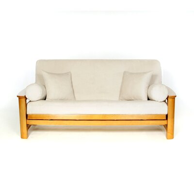 Sussex Box Cushion Futon Slipcover Upholstery: Shell