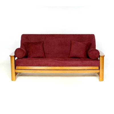 Sussex Futon Slipcover Upholstery: Wine