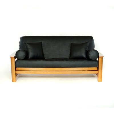 Full Box Cushion Futon Slipcover Upholstery: Kohl