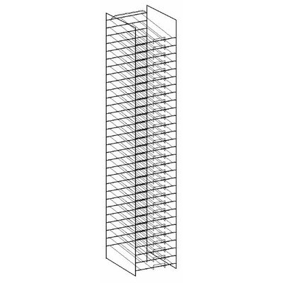 Paper Display Rack Size: 12 H x 12 W