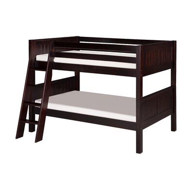 Twin over Twin Bunk Bed Color: Cappuccino