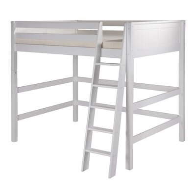 Caitlynn Full Loft Bed Finish: White