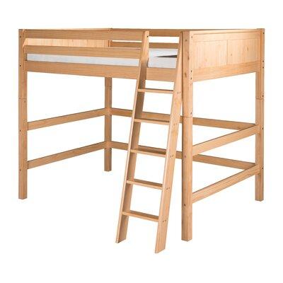 Caitlynn Full Loft Bed Finish: Natural