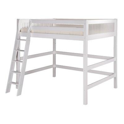 Full Loft Bed Finish: White