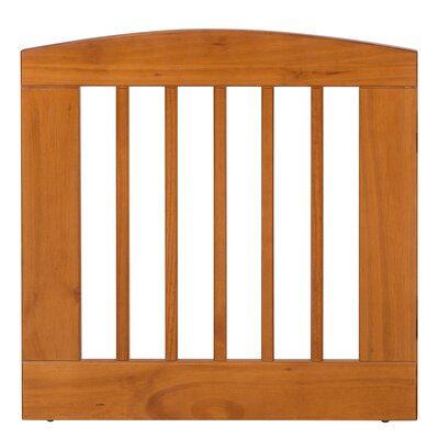 Gale Single Panel Pet Gate Size: Medium (24 H x 24 W x 0.75 L), Finish: Chestnut