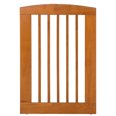 Gale Single Panel Pet Gate Size: Large (36 H x 24 W x 0.75 L), Finish: Chestnut