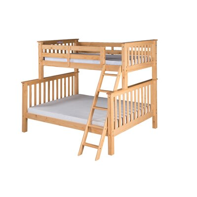Santa Fe Mission Twin Bunk Bed Color: Natural