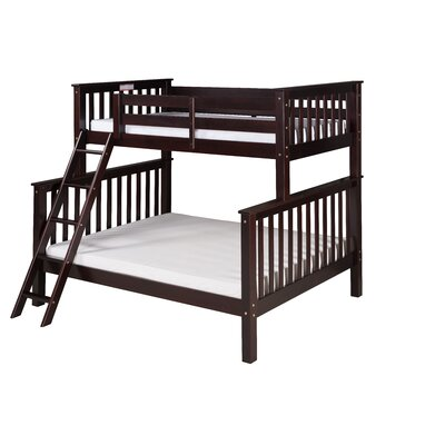 Santa Fe Mission Twin Bunk Bed Finish: Cappuccino