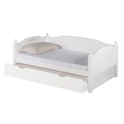 Expanditure Daybed with Trundle Finish: White