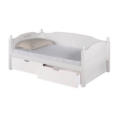 Expanditure Daybed with Drawers Finish: White