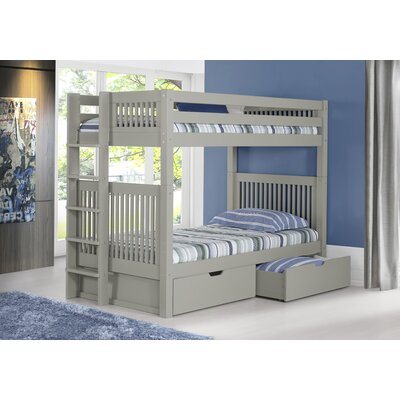 Twin Bunk Bed with Drawer