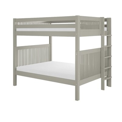 Full Over Full Bunk Bed Color: Gray