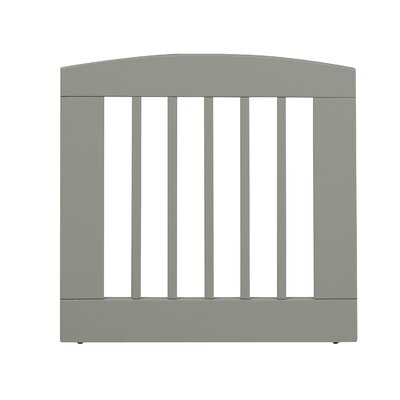 Gale Single Panel Pet Gate Size: Medium (24 H x 24 W x 0.75 L), Finish: White