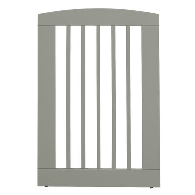 Ruffluv Single Panel Pet Gate Size: Large (36 H x 24 W x 0.75 L), Finish: White