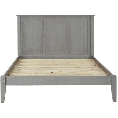 Van Houzen Platform Bed Finish: Weathered Gray, Size: Full/Double
