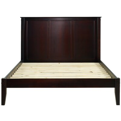 Garwood Platform Bed Size: Full/Double, Color: Cherry